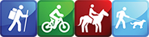 Trail Classification Icons