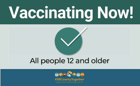 Vaccines Open to Everyone Age 12 and Older - Newsflash