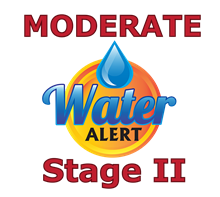 Water Conservation Moderate Alert Stage 2