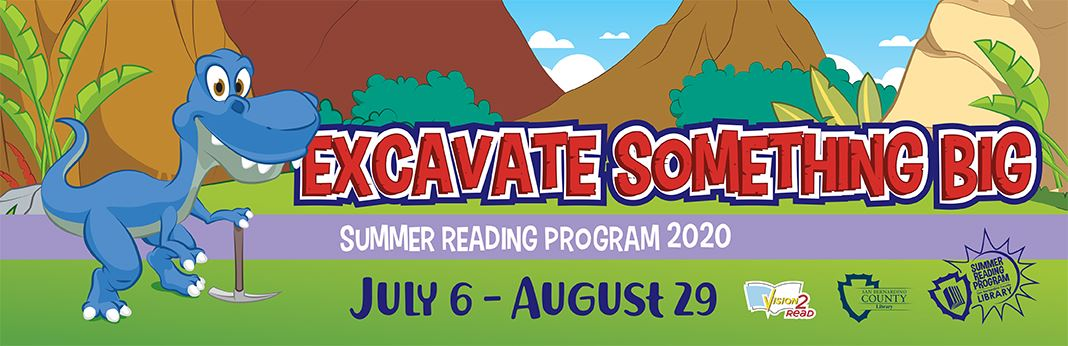 Library Summer Reading Program Banner