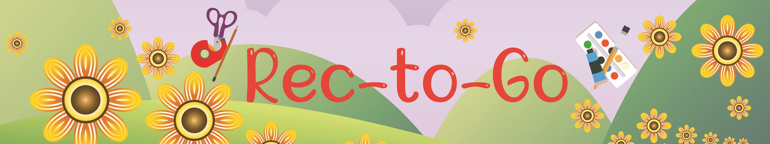 Rec-to-Go Spring Banner