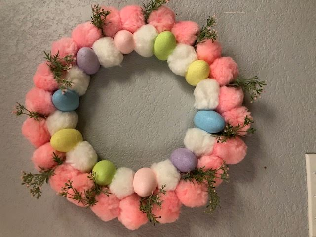 Easter Wreath-Stay at Home Project